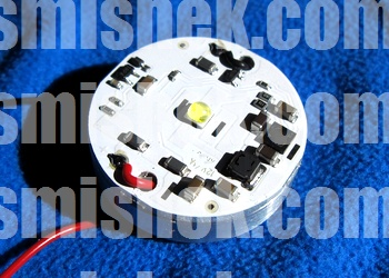 intelligent led driver buck 12W XHP35